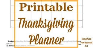 Thanksgiving Dinner Menu Template Free Printable Thanksgiving Dinner Menu Planner