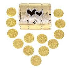 arras boda wedding unity coin set arras de boda treasure heart