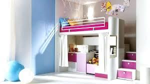 chambre fille mezzanine chambre fille lit mezzanine decoration
