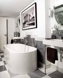 deco bathroom ideas a hollywoodregency style glam bathroom in black white grey