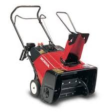 poulan pro 136 cc gas powered 21 in single stage snow thrower