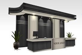 Black Reception Desk Second Marketplace Grand Reception Desk V 2 Copy Modify