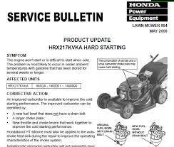 honda hrx217 type honda hrx 217 transmission troubles