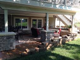 House Patio Design by Under Deck Patio Ideas Officialkod Com