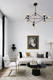home design gold home makeover an interior designer s glam black white denver home