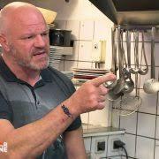 cauchemar en cuisine anglais vous allez me donner les clés du restaurant mercredi pour la