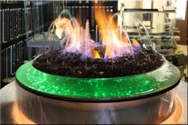Custom Gas Fire Pits - remarkable ideas water fire pit good looking evolution 360 gas