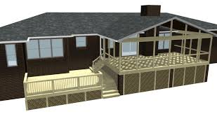 Shed Roof Screened Porch Screened Porches Archadeck Of Central Ga