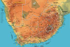 Africas Map by South African Map Escorted Tours Africa