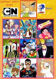 Memes Cartoon Network - sonic s top 10 cartoonnetwork shows by gokuandsonic707 on deviantart