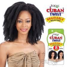black cuban twist hair freetress equal synthetic hair weave cuban twist weave hair