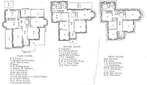 floor plans of mansions village green preservation society gray towers part two