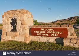 North Dakota National Parks images Sign theodore roosevelt national park stock photos sign theodore jpg