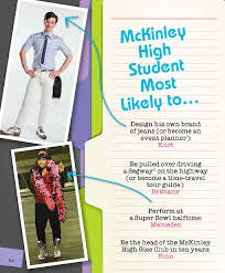 order high school yearbook glee to release the official william mckinley high school