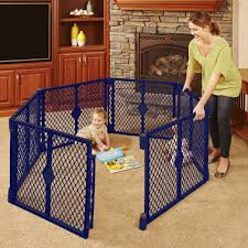 north states easy swing and lock bronze top of stairs baby gate