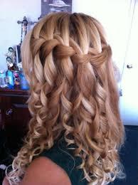 Hochsteckfrisuren Locken Flechten by Corkscrew Curls With Pink Hair Ribbon Haare Mit Blumen Zum