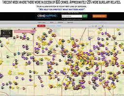 Crime Maps Las Vegas Crime Map Crime Map Of Las Vegas United States Of