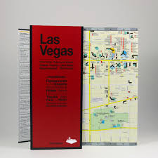 Las Vegas Fremont Street Map by Las Vegas City Guide By Red Maps