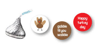 Hershey Thanksgiving Free Turkey Clip Art Candy Bar Wrappers Chocolate Kiss Labels