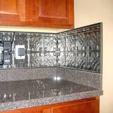 metal kitchen backsplash tiles metal kitchen backsplash installation for kitchens ideas cool m