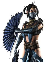Skarlet Mortal Kombat Halloween Costume Kitana
