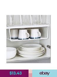 kitchen cupboard storage ideas ebay storage bins baskets ebay home garden kitchen