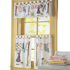 amazon com nostalgic laundry room cafe curtain set machine