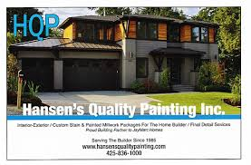 Seattle Interior Painters Hansen U0027s Quality Painting Inc Seattle U0026 Surrounding Area House