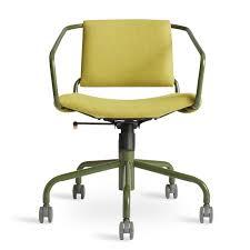 Leather Task Chair Daily Task Chair Modern Task Chairs Blu Dot