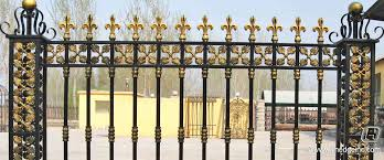 ornamental metal fence supplies best idea garden