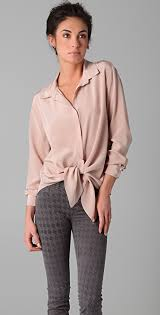 tie front blouse rory beca dol tie front blouse shopbop