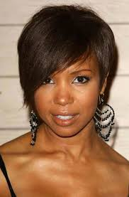 short haircuts for black women round face hairstyles for black