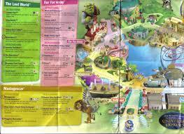 Universal Studios Orlando Map 2015 Universal Studios Singapore Park Map
