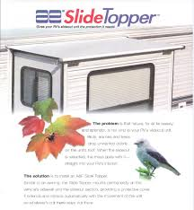 Rv Awning Protective Cover Rv Slidetopper Awnings Fabrics