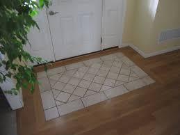 Tile Area Rug Tile Rug Entry South House Designs