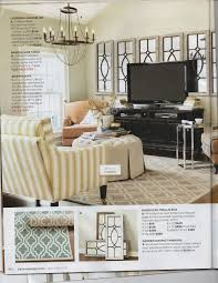 mirrors behind the blank wall behind tv home decor pinterest moroccan trellis rug in latte from ballard designs