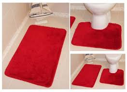 red bathroom rug cievi u2013 home