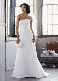 davids bridal wedding dresses david s bridal wedding dress satin a line with pleated bodice
