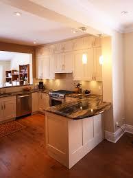 kitchen style elegant l shaped kitchen ideas with flower designs