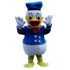 donald costume popular custom made new plush donald duck mascot costume