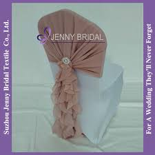 cheap sashes for chairs c304a2 dusty pink ruffles chiffon cheap chair covers