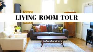 living room tour eclectic vintage modern space thrifty home