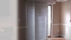 glider blinds window treatments for sliding doors