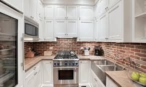 brick backsplash in kitchen 20 kitchen backsplashes that aren t subway tile