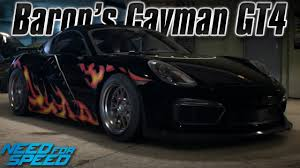 porsche cayman s horsepower need for speed 2015 baron s porsche cayman gt4 legends update