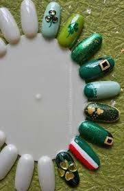 some easy st patrick u0027s day diy nail art nevertoomuchglitter