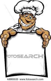 dessins cuisine clipart sourire dessin animé cuisine chef cuistot à h