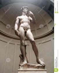 michelangelo david sculpture michelangelo david statue in florence italy stock photo image of