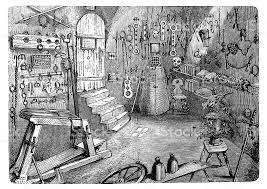 chambre des tortures gravure chambre à nuremberg de 1870 cliparts vectoriels et