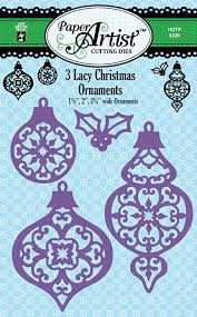lacy ornaments cutting dies by the press inc